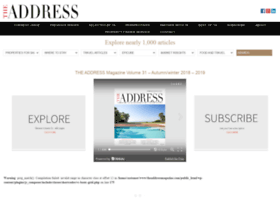 theaddressmagazine.com
