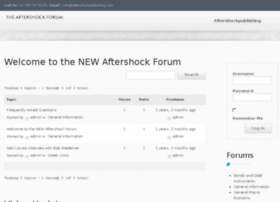 theaftershockforum.com