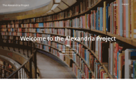 thealexandriaproject.org