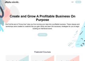 thealishanicole.teachable.com