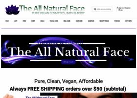 theallnaturalface.com