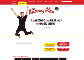 theamazingmaxlive.com