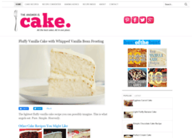 theansweriscake.com