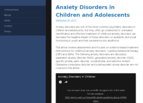 theanxietydisorderssite.com