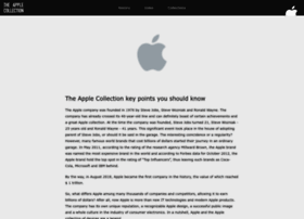 theapplecollection.com