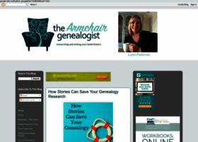 thearmchairgenealogist.com
