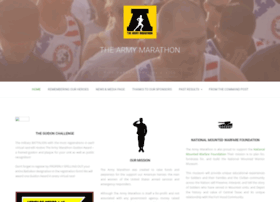 thearmymarathon.com