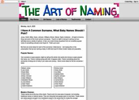 theartofnaming.com