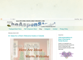 theaspenstand.blogspot.com