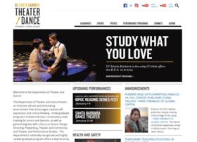 theaterdance.ucsb.edu