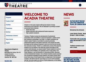 theatre.acadiau.ca