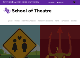 theatre.sfasu.edu