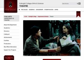 theatre.uark.edu