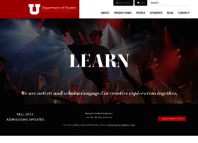 theatre.utah.edu