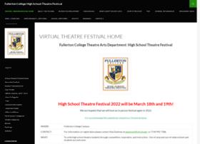 theatrefestival.fullcoll.edu
