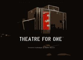 theatreforone.com