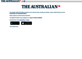 theaustralian.newspaperdirect.com