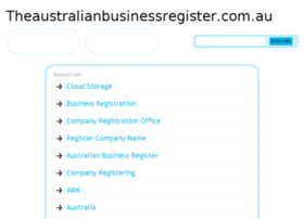 theaustralianbusinessregister.com.au