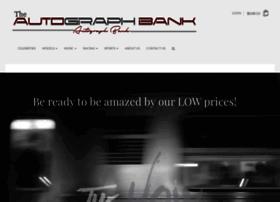 theautographbank.com