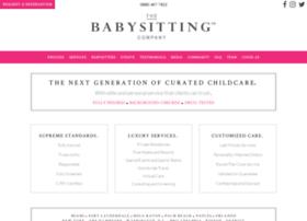thebabysittingcompany.com