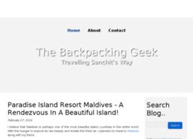 thebackpackinggeek.jigsy.com