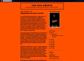 thebadoriole.blogspot.nl