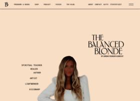 thebalancedblonde.com