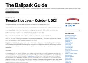 theballparkguide.mlblogs.com