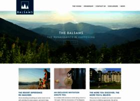 thebalsamsresort.com
