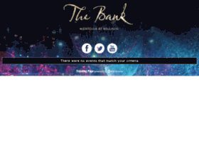 thebanknightclub.wantickets.com