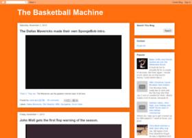 thebasketballmachine.blogspot.se