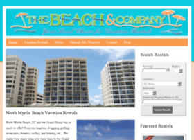 thebeachandcompanyvacations.com