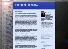 thebeezspeaks.blogspot.com