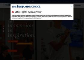thebenjaminschool.org
