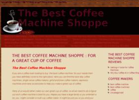 thebestcoffeemachineshoppe.com