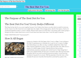 thebestdiet4you.com