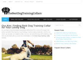 thebestdogtrainingcollars.com