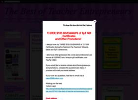 thebestofteacherentrepreneurs.net