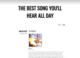 thebestsongyoullhearallday.com