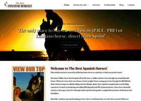 thebestspanishhorses.com
