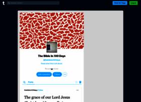 thebiblein100days.tumblr.com