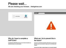 thebigshow.com