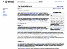 thebigwordproject.com