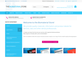thebiomaterialstore.co.uk