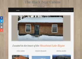 theblackbearcabins.com