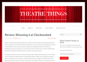 theblogoftheatrethings.com