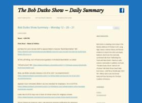 thebobdutkoblog.com