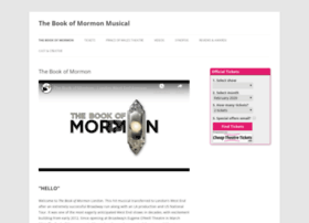 thebookofmormonmusical.co.uk