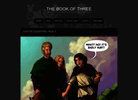 thebookofthree.thecomicseries.com