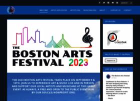 thebostonartsfestival.com